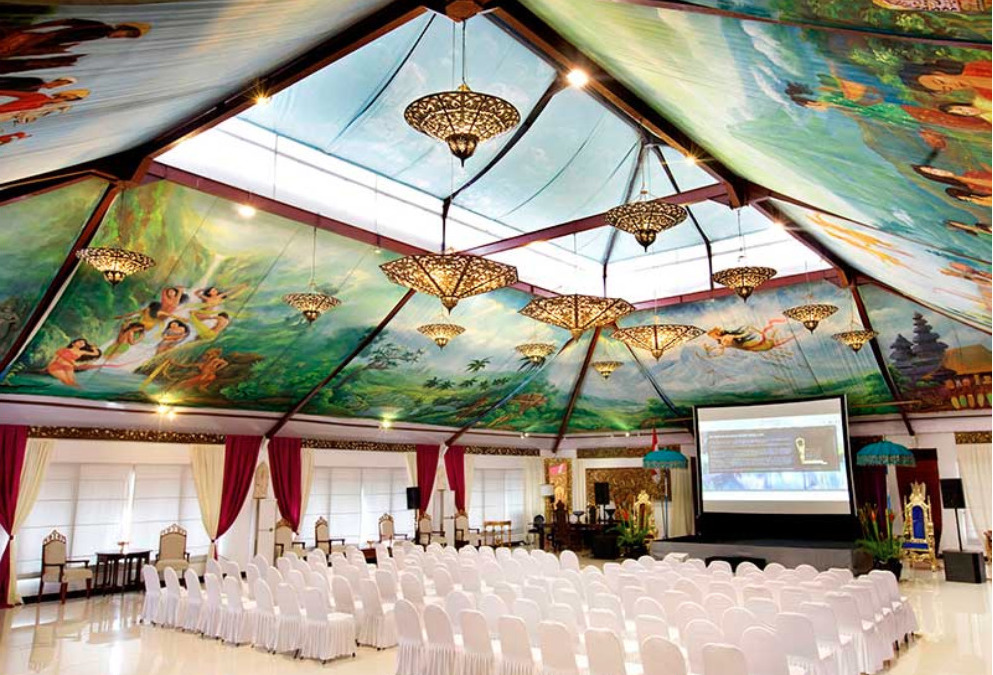 Pandawa Ballroom Bali Ubud Meeting Conference Mansion Venue